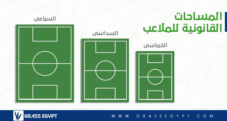 المساحات القانونية لملاعب كرة القدم 2019 Grassegypt
